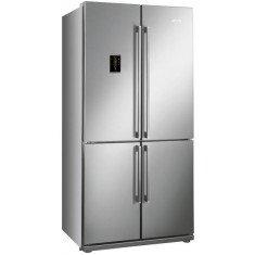 Külmik Smeg, Nelja uksega, 182cm, A+, 43 dB, puutetundlik, RV teras