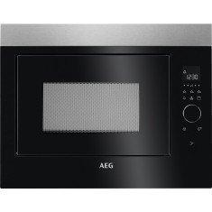 Mikrolaineahi AEG, int., 26 L, 900 W, must/rv teras