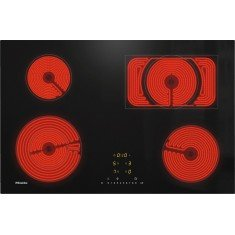 Pliidiplaat Miele KM 6542 FL, 4 x HighLight, 76 cm, must