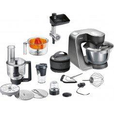 Köögikombain Bosch, 1000 W, must/hõbe, HomeProfessional