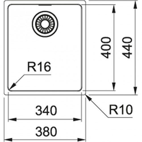 Valamu Franke MRX 110-34 (käsitsi avatav)