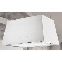 Seina õhupuhastaja Falmec LUMIERE E-ION 67cm, 450 m3/h, LED 4x1,2W (3200K), valge klaas