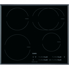 ¤Pliidiplaat AEG, 4x induktsioon, 60 cm, must, faasitud serv