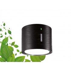 Seina õhupuhastaja Falmec TWISTER E-ION 45cm, 450 m3/h, LED 4x1,2W (3200K), must
