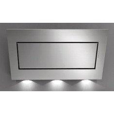 Seina õhupuhastaja Falmec QUASAR TOP 90cm, 800m3/h, LED 3x1,2W (3200K), sõrmejäljevaba rv teras Fasteel