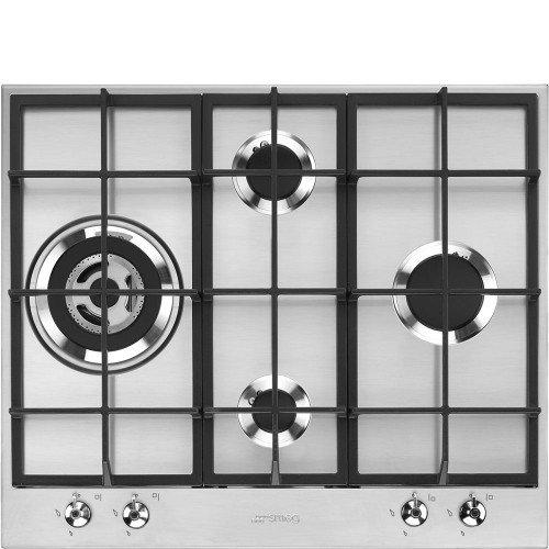 Pliidiplaat Smeg Classica, 4 x gaas, 60 cm, RV teras