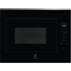 Mikrolaineahi Electrolux, int, 900 W, must/rv teras