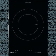 Pliidiplaat AEG Crystal Line, Domino, 1xinduktsioon, 36 cm, must, lõigatud serv