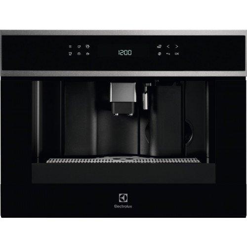 Espresso kohvimasin Electrolux, integreeritav, must/rv-teras