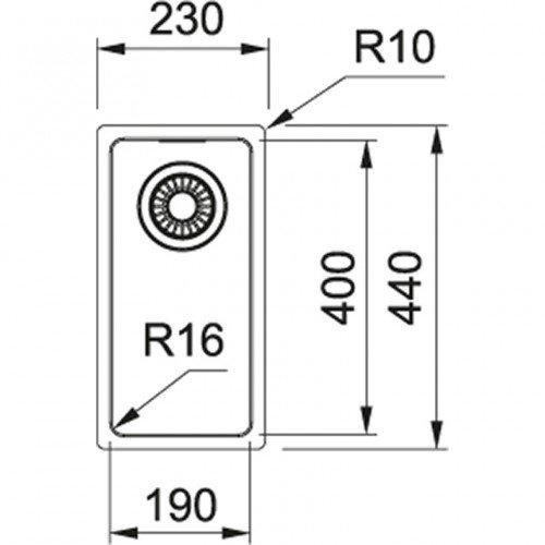 Valamu Franke MRX 110-19 (käsitsi avatav)