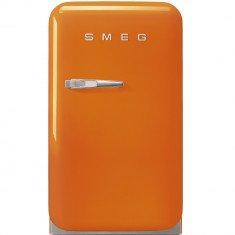 Minibaar Smeg, 50-ndate stiil, 73 cm, D, 29dB, oranž