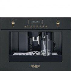 Espresso kohvimasin Smeg, int., automaatne piimavahustaja, Colonial/Cortina, antratsiit
