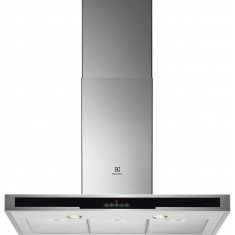 Õhupuhastaja Electrolux, seina, 90 cm, RV teras, 685 m3/h, 63 dB