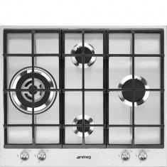 Pliidiplaat Smeg Linea, 4 x gaas, WOK, 60 cm, RV teras