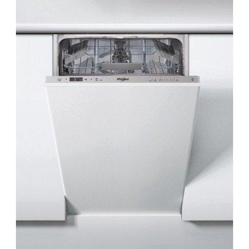 Nõudepesumasin Whirlpool, integreeritav, 45 cm, A+, 47 dB