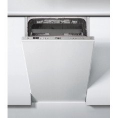 Nõudepesumasin Whirlpool, integreeritav, 45 cm, A++, 47 dB