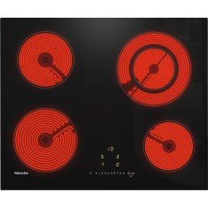 Pliidiplaat Miele KM 6520 FL, 4 x HighLight, 60 cm, must