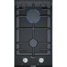 Pliidiplaat Bosch, 2 x gaas, Domino, 30 cm, must, faasitud serv