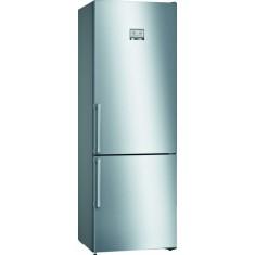Külmik Bosch, 203 cm, A+++, NoFrost, 38 dB, elektrooniline juhtimine, rv teras