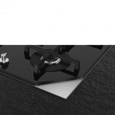 Pliidiplaat Smeg Linea, 5 x gaas, 72 cm, must, faasitud serv