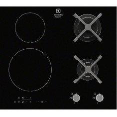 Pliidiplaat Electrolux, 2 x gaas + 2 x induktsioon, 60 cm