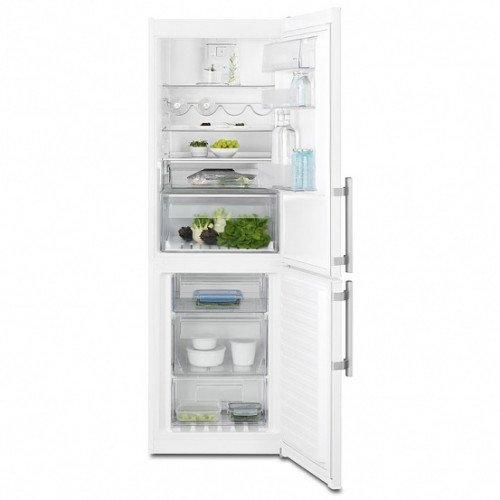 Salongi näidis! Külmik Electrolux, NoFrost, 185 cm, A++, 43dB, elektrooniline juhtimine, valge