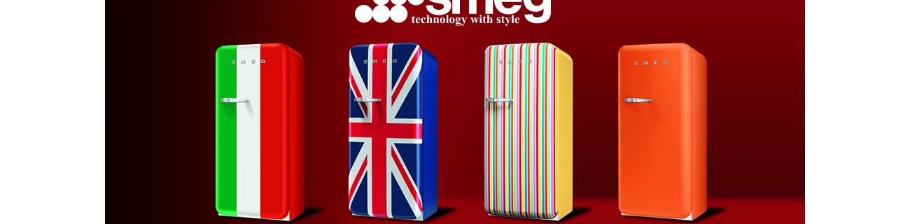 50's coming back - Smegi suur ja värviline retro külmikute valik