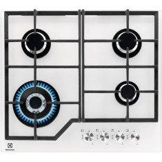 Pliidiplaat Electrolux, 4 x gaas, 60 cm, klaas, valge
