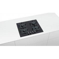Pliidiplaat Bosch, 4x gaas, 60 cm, must, lõigatud serv