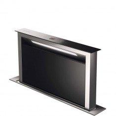 Õhupuhastaja Smeg, 60 cm, RV-teras/must klaas