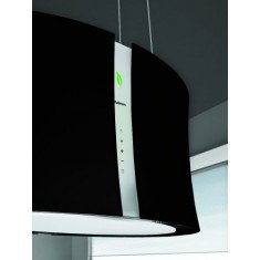 Seina õhupuhastaja Falmec ZEPHIRO E-ION 66cm, 450 m3/h, LED 4x1,2W (3200K), must mattklaas