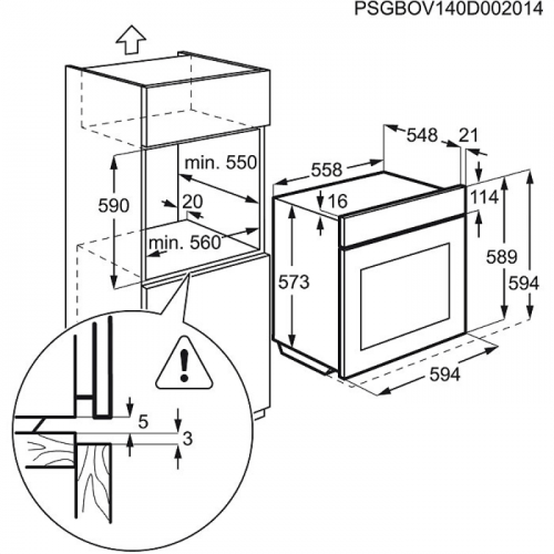 ¤Ahi Electrolux, 74 l, A, RV-teras