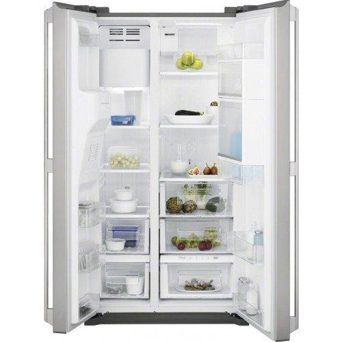 Külmik Electrolux, Side-by-Side, NoFrost, 177 cm, A+, 44dB, elektrooniline juhtimine, RV teras