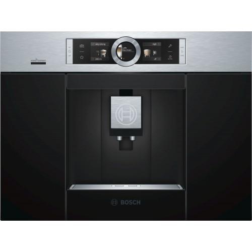 Espresso kohvimasin Bosch, integreeritav, must/rv teras