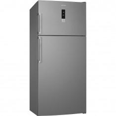 Külmik Smeg, 183cm, A++, 44 dB, NoFrost, puutejuhtimine, RV teras