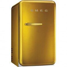 Minibaar Smeg, 50-ndate stiil, 73 cm, D, 29dB, kuldne