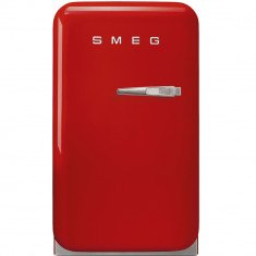 Minibaar Smeg, 50-ndate stiil, 73 cm, D, 29dB, punane