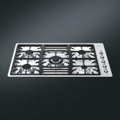 Pliidiplaat Smeg Linea + Classic, 5x gaas, 90 cm, RV teras