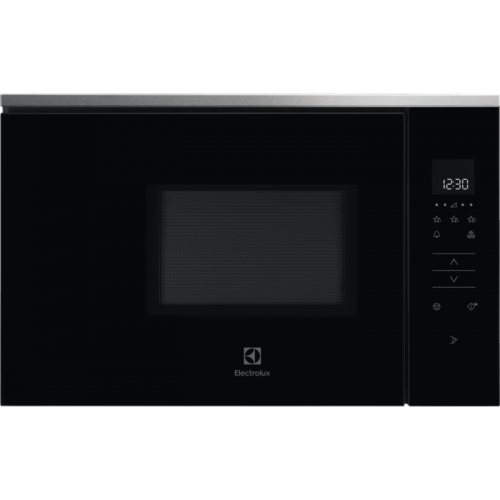 Mikrolaineahi Electrolux, int, 800 W, must/rv teras