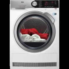 Kuivati AEG, 8 kg, soojuspumbaga, inverter, A+++, LCD, valge