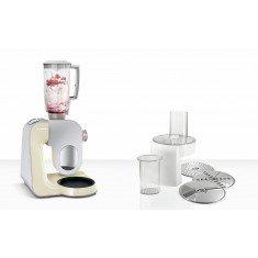 Köögikombain Bosch, 1000 W, hõbe/vanilje