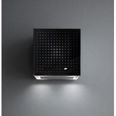 Seina õhupuhastaja Falmec RUBIK E-ION 42cm, 450 m3/h,LED 4x1,2W (3200K), must klaas