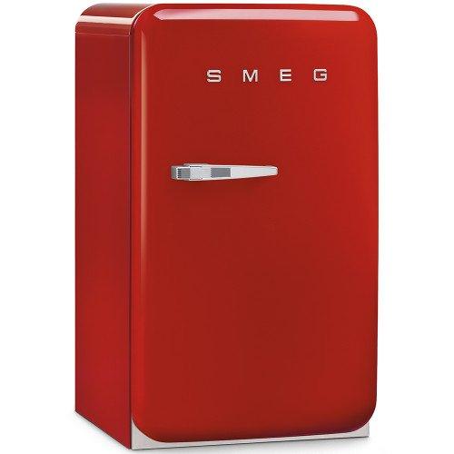 Jahekapp Smeg, 50-ndate stiil, 96cm, A+, 37 dB, mehaaniline juhtimine, punane