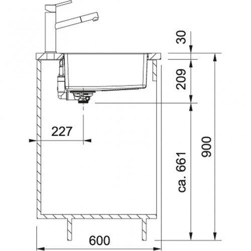 Valamu Franke Maris MRX 210-45 TL (käsitsi), rv teras