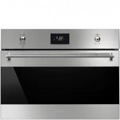 Kompakt mikrolaineahi Smeg Classic, integreeritav, 40L, 1000 W, 72 teras