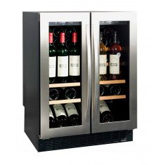 Veinikülmik Avintage, 2 kambriga, integreeritav, 82cm, elektrooniline juhtimine