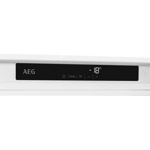 Sügavkülmik AEG, integreeritav, 177 cm, A+, NoFrost, valge