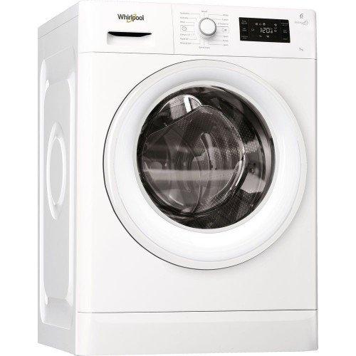 Pesumasin Whirlpool, eestlaetav, 7 kg, A+++, 1400 p/min, valge