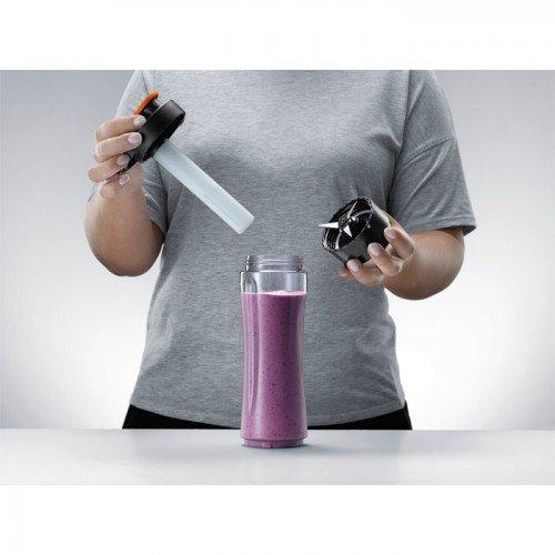 Blender Electrolux, 2 kaasavõetavat joogipudelit, jahutuspulk, 300 W, rv-teras