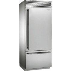 Külmik Smeg, Classic, prantsuse uksega, 212cm, A+, 40 dB, RV teras, puutetundlik